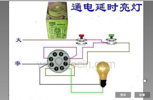 通电延时断电电路图; 7.1 常用控制电器; 求继电器和接触器?