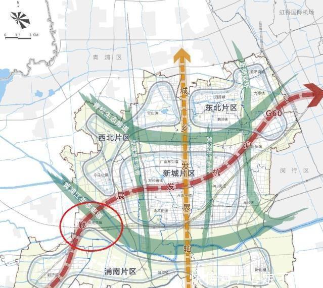 上海市资讯 上海市松江区2035年总体规划的浦南:农业保护区为主、建设为辅