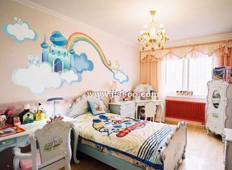 墙画图片大全,时尚创意手绘墙画,简单漂亮的手绘墙画