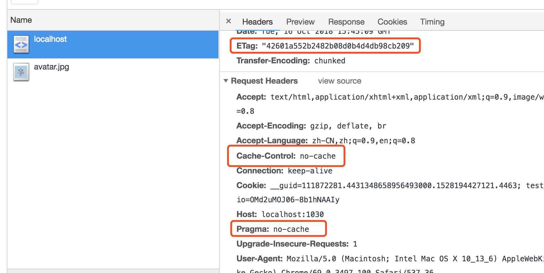 强刷浏览器自动设置no-cache