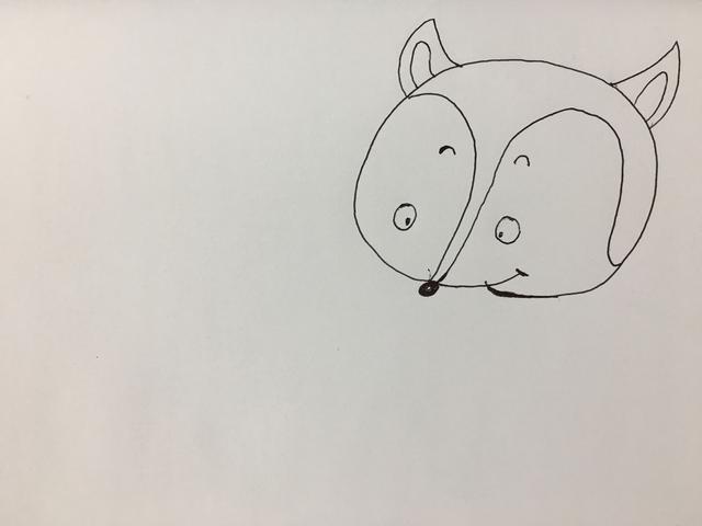 简笔画--萌翻四海八荒的小狐狸