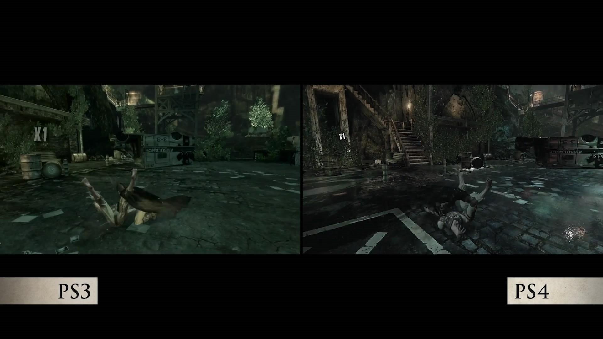 《蝙蝠侠:重返阿卡姆》重制前后画面对比公布