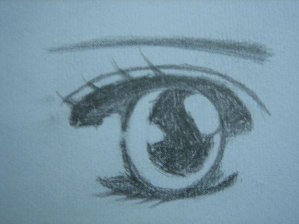 怎样画卡通人物的脸部和眼睛