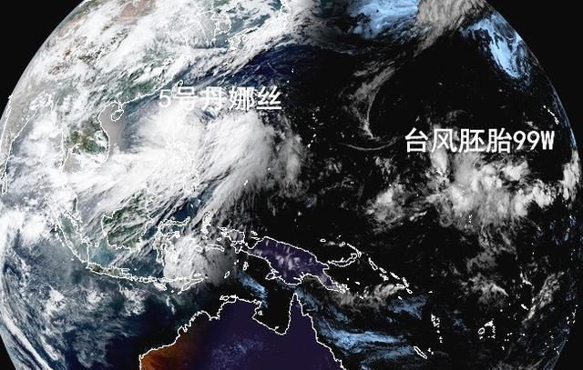 5号台风丹娜丝正式诞生,预测等级再提升,或将影响我国南方5省