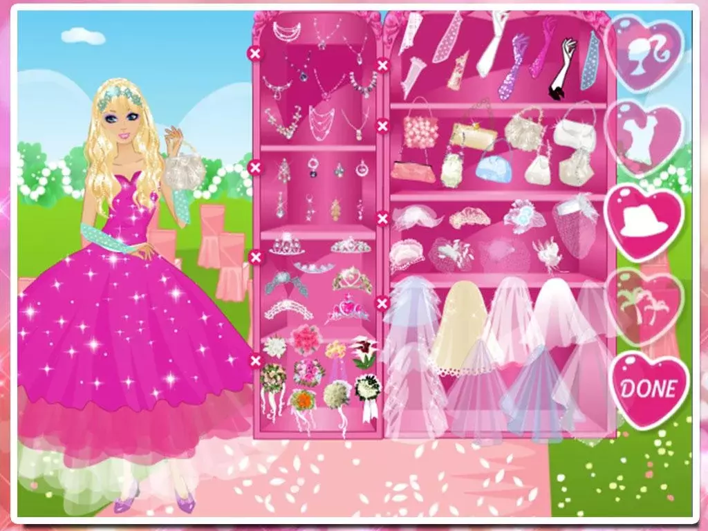 游戏 休闲益智 >公主的舞会装扮  可爱的公主要参加重要的舞会,为她装