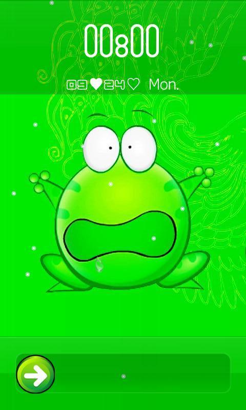 """0]  一只自诩""""宇宙无敌超级可爱""""的小青蛙——绿豆leon,可爱的形象"""
