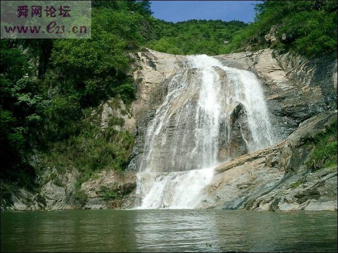 桐城三道岩原生态风景区避