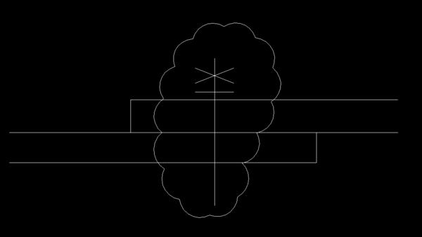 cad螺栓螺母垫圈画简单画法是?望中cad行折明细表图片