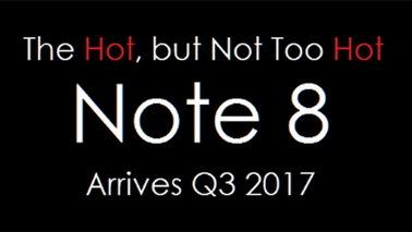 三星确认2017年春季与秋季分别发售S8和Note 8