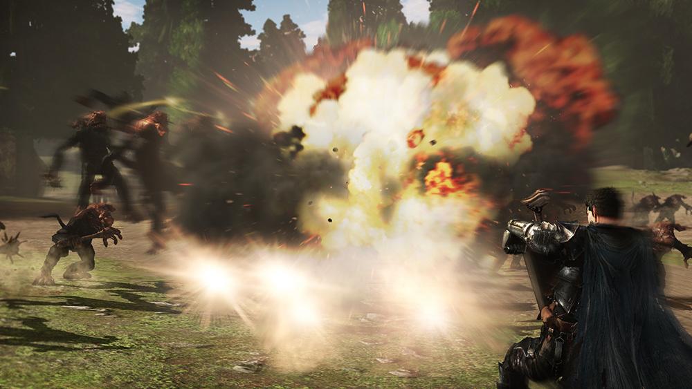 《剑风传奇无双》公布游戏片段