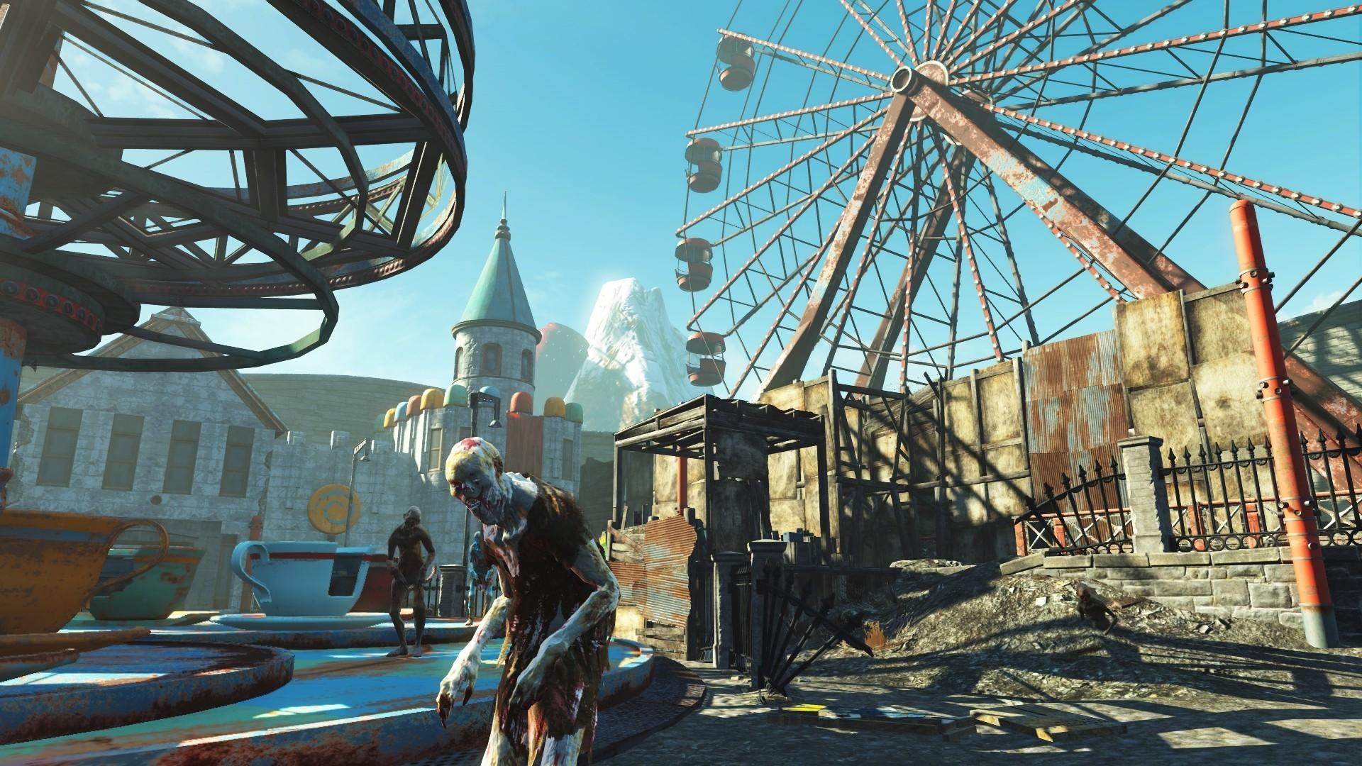 B社表示《辐射4》并不会推出PS4 Pro补丁