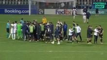 输不起?英格兰U21队遭淘汰后与对手发生冲突