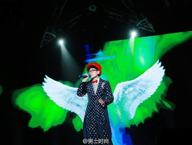 张杰2014的演唱会图片图片