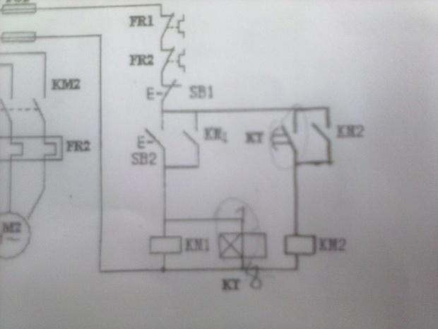 电动机正反转(自动)控制电路故障~~~求解