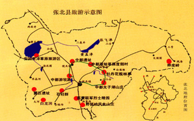 围场坝上景区地图