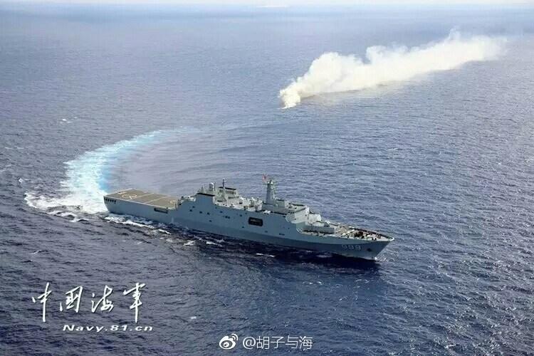 南海舰队大规模登陆演习:气垫艇集群出动 - 一统江山 - 一统江山的博客