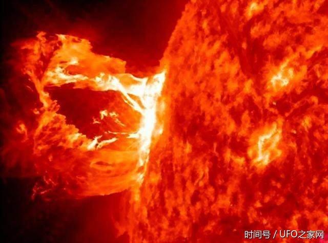 太阳内部竟然存在UFO基地,空天航母可随进出! - 真光 - 真光 的博客