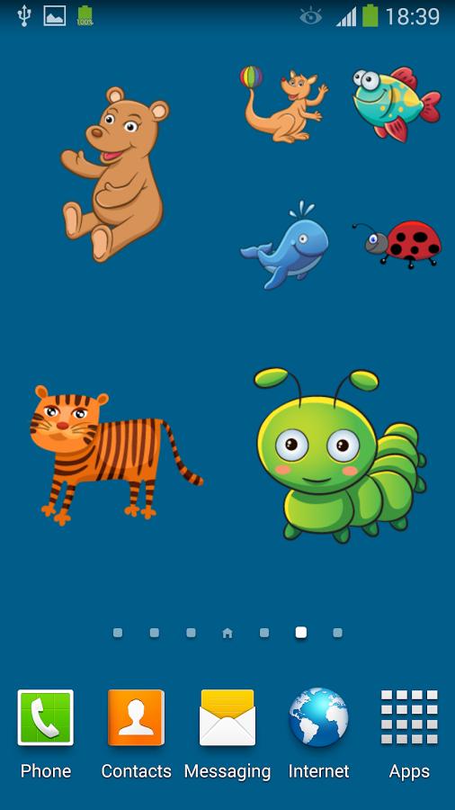 壁纸主题 可爱的动物贴纸官方下载