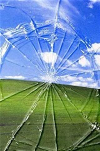 破碎的屏幕动态壁纸_360手机助手