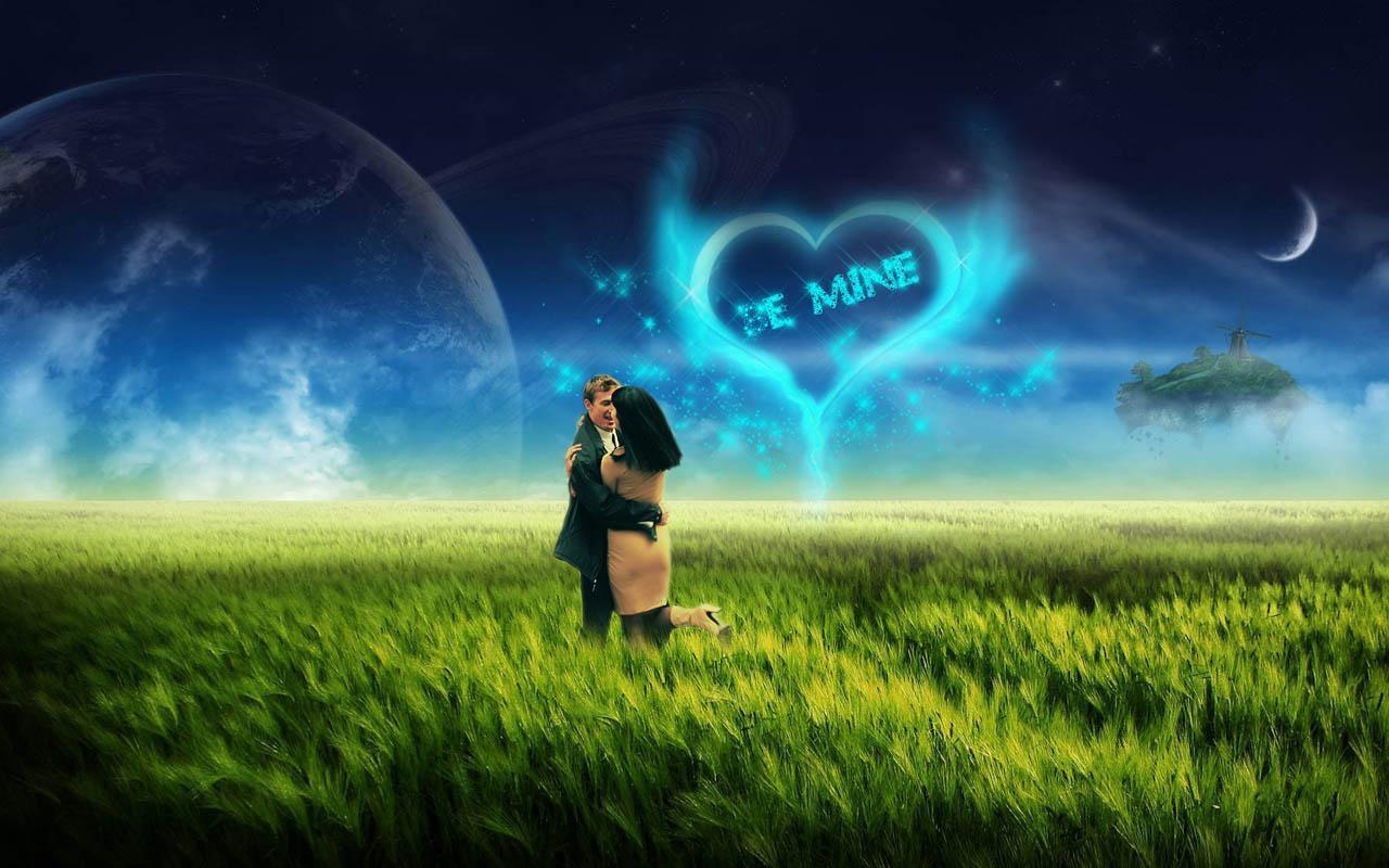 浪漫爱情主题壁纸