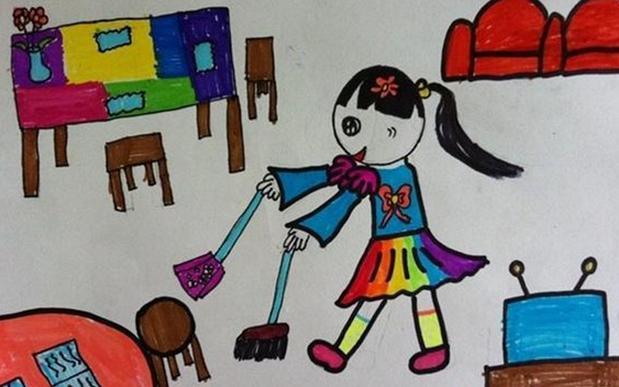 以劳动为主题的儿童画有哪些