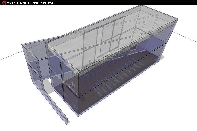 建筑立体结构示意图