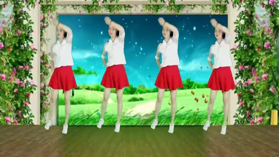 活力健身操《我是蝴蝶你是花》欢快动感优美抒情活力健身!
