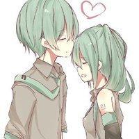 唯美动漫情侣头像,一张图中有两人的方便截的也可以