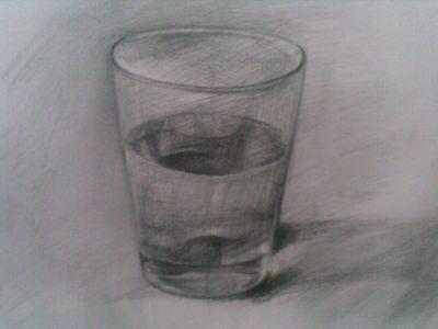 己画的 小学生素描杯子的图片 ,要简单点的,不能太难,拒绝网上找图片