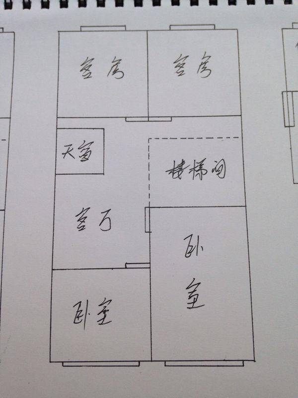 房子刚建成,坐南朝北向,不是正北,一楼后排右面是厨房,卫  这样的农村