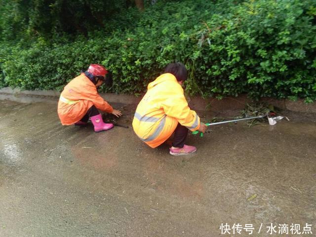 """滨州暴雨结束!""""环卫橙""""让城市重新整洁美丽"""