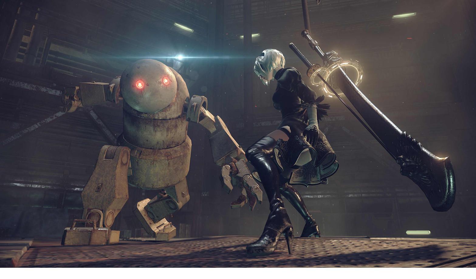 SE表示《尼尔:机械纪元》steam版不和主机版同步发行