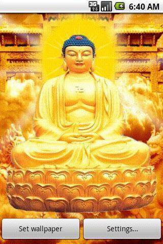 佛陀动态壁纸