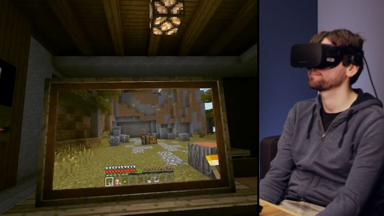 我的世界支持Oculus Rift