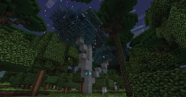 暮色森林魔法树苗