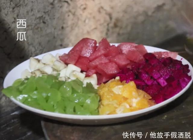 """湖北宜昌特色""""瓷娃子"""",夏天一人捧一盆,吃着清凉消暑真过瘾"""
