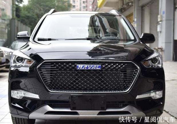 哈弗紧凑型SUV,轴距2米68配1.5T,起步就150匹马力