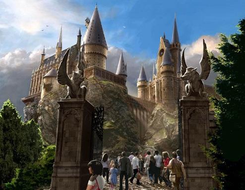 设想图:霍格沃茨城堡