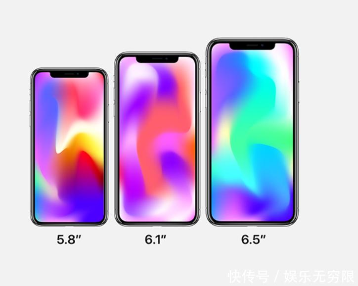 苹果iphone xi 2018三款新机渲染图首曝光