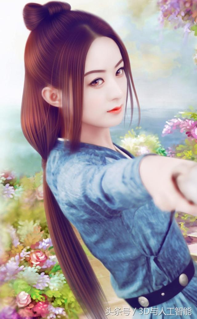 赵丽颖《楚乔传》手绘图美轮美奂,颖宝粉丝快收藏