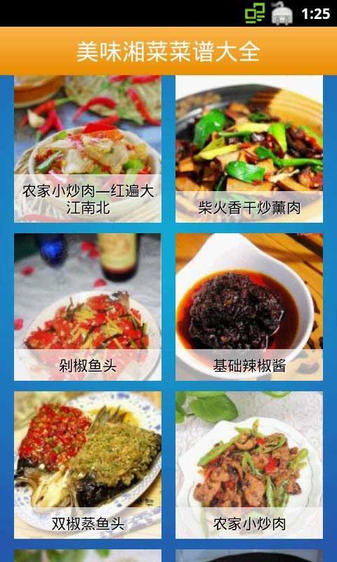 美味湘菜菜谱大全截图2