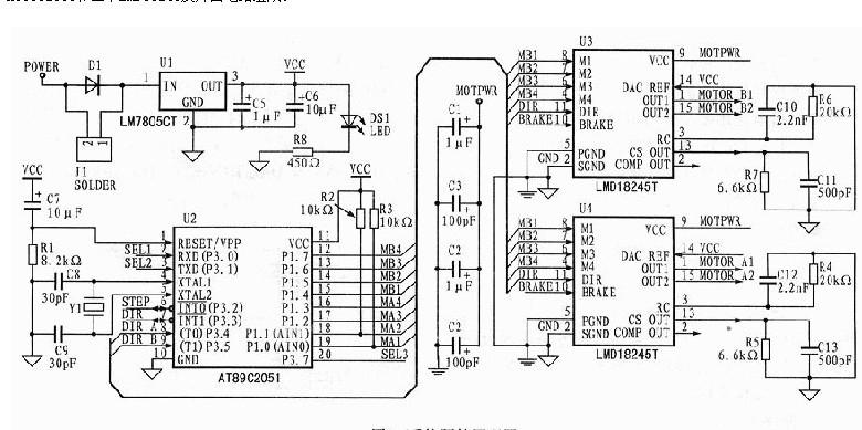 复杂液压系统结构图