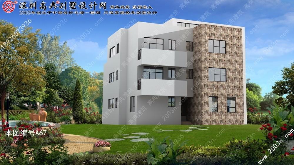 新农村自建别墅图纸农村自建二层小别墅