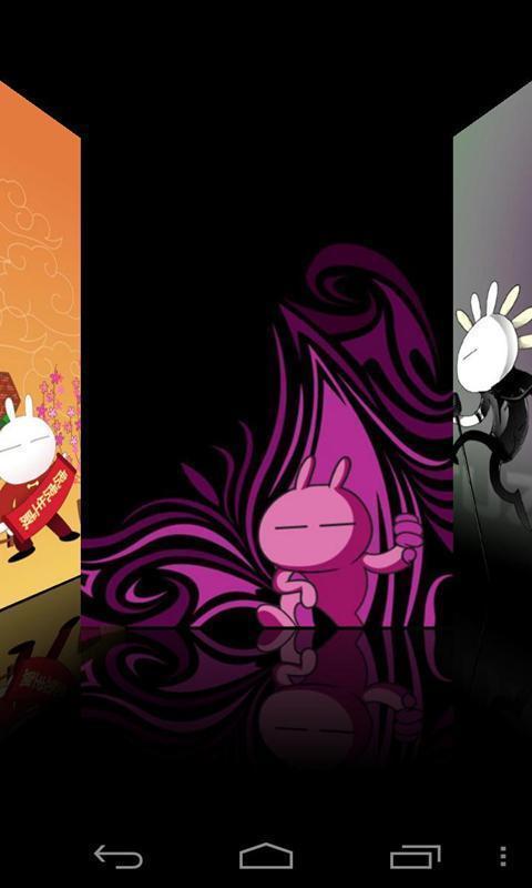可爱兔斯基炫酷锁屏免费下载|可爱兔斯基炫酷锁屏手机