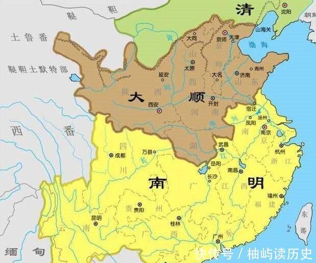 明朝地图高清版_明朝地图省高清版大图