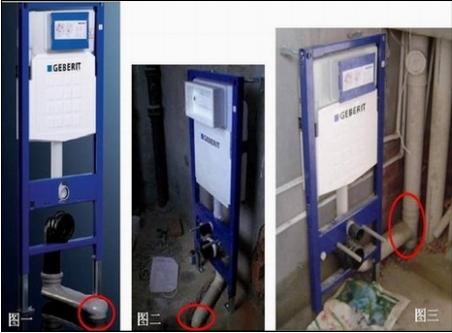 墙排坑距:如果安装入墙式马桶就要先测量排污口中心