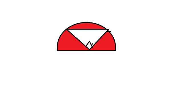 01 是求三角形的面积还是半圆形的 追问:半圆型的,红色部分 补充:半圆