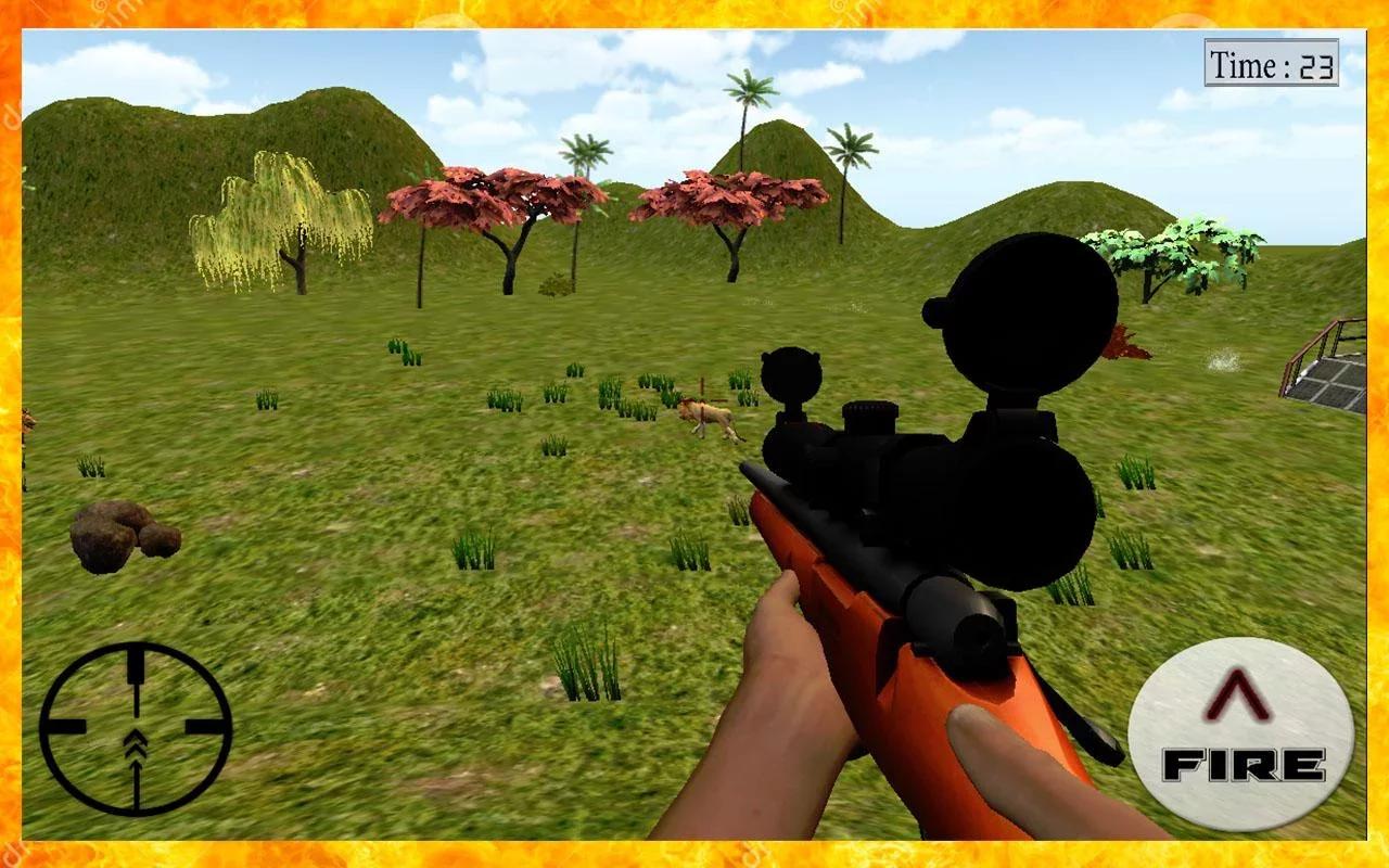 游戏 动作冒险 >动物狩猎冒险