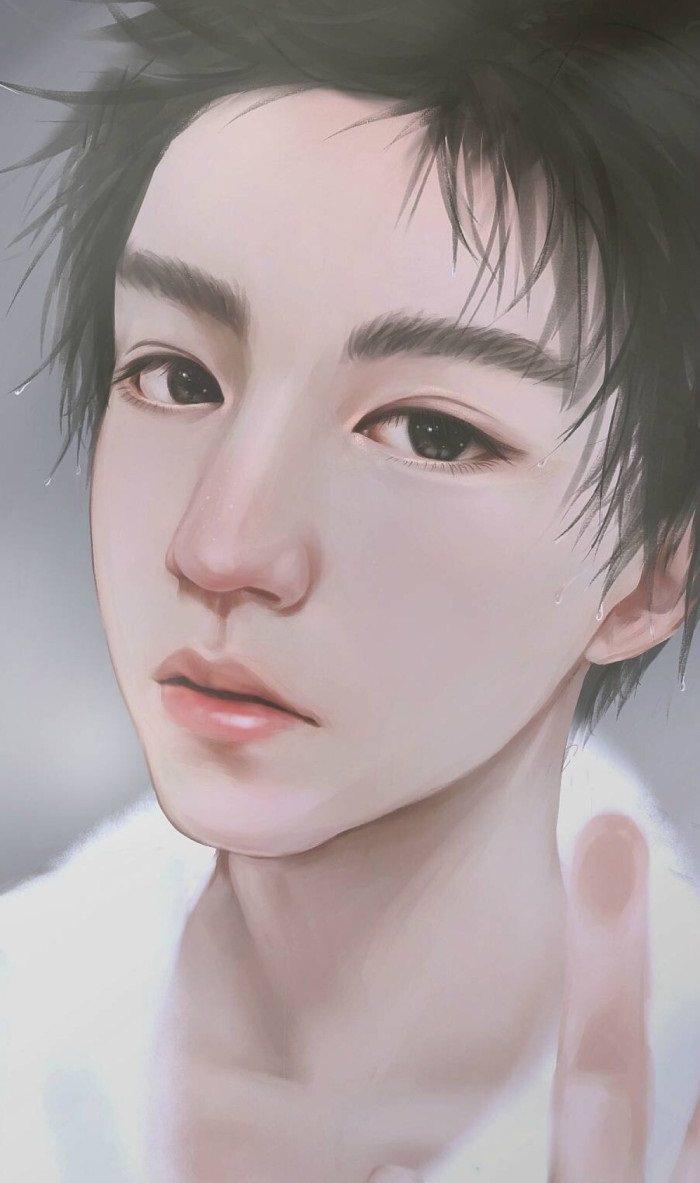 tfboys漫画版图片,王俊凯迷人,王源可爱,最帅气的是他
