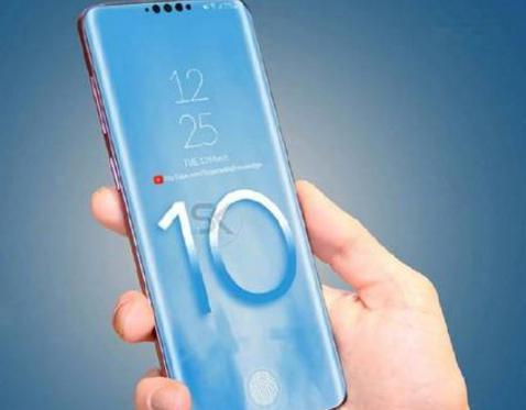 三星5G手机S10曝光,颜值几乎是没有缺陷,屏占